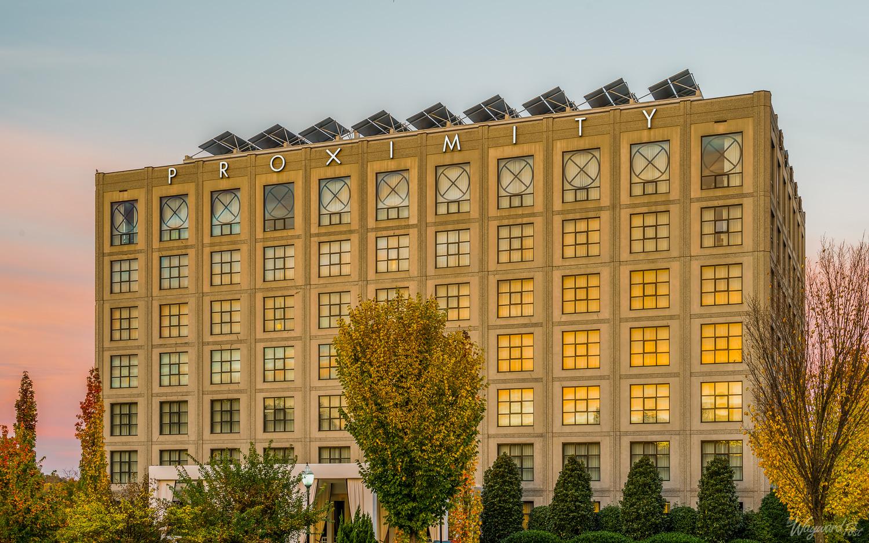 Proximity Hotel, Greensboro, North Carolina. Photo by Zygmunt Spray.