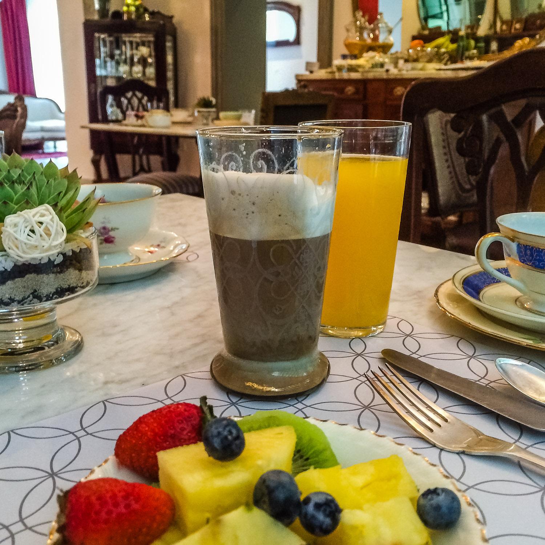 Breakfast Alma Historica 2. Photo by Johanna Read TravelEater.net - Wayward Weekend