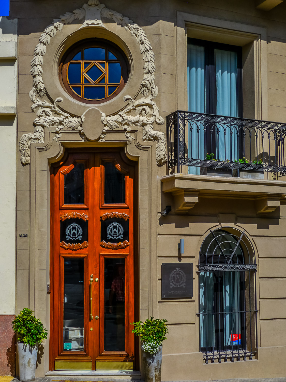Alma Historica front door. Photo by Johanna Read TravelEater.net - Wayward Weekend