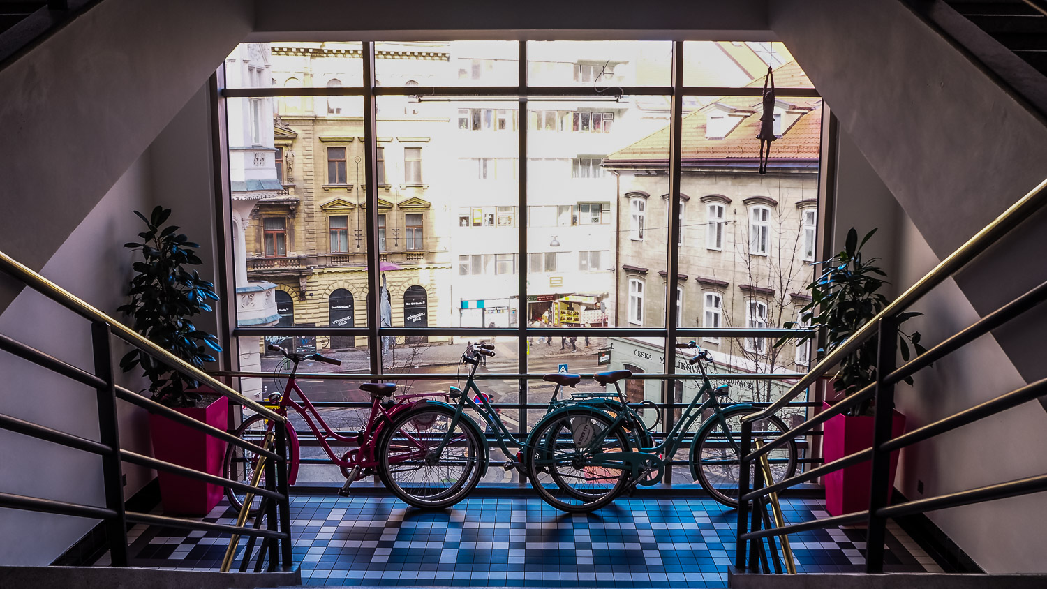 Bikes in Mosaic House - Wayward Weekend in Prague