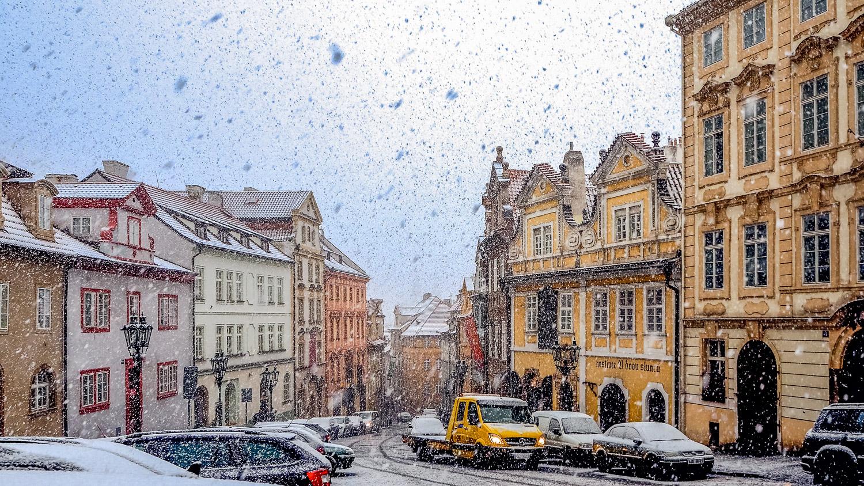 Snowy Prague - Wayward Weekend in Prague