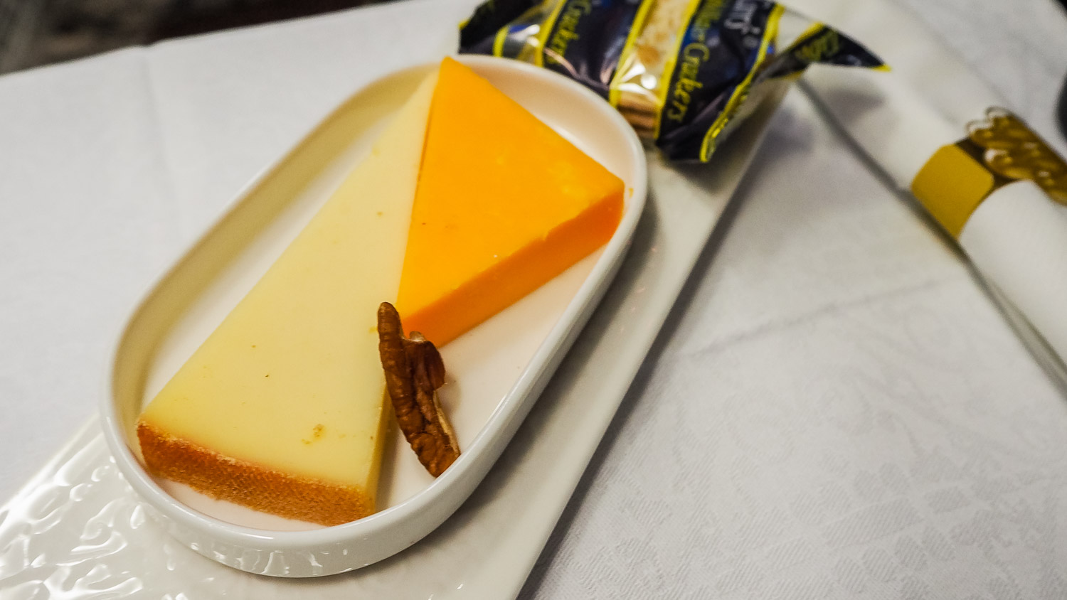 Cheese Plate - KLM Business Class - by Britney Hope - The Wayward Post