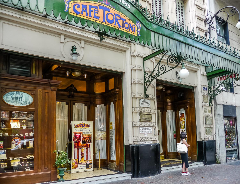 Café Tortoni. Photo by Johanna Read TravelEater.net
