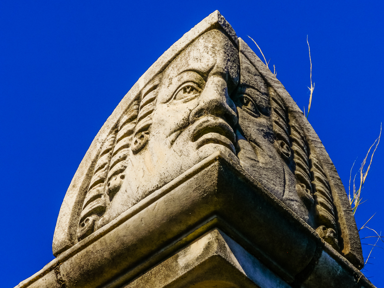 Faces, Recoleta Cemetery. Photo by Johanna Read TravelEater.net
