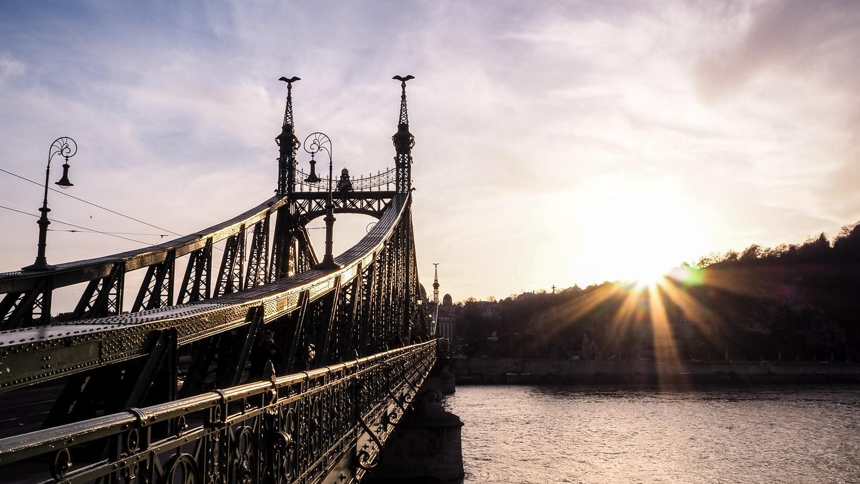 Szabadság Bridge - Wayward Weekend Budapest