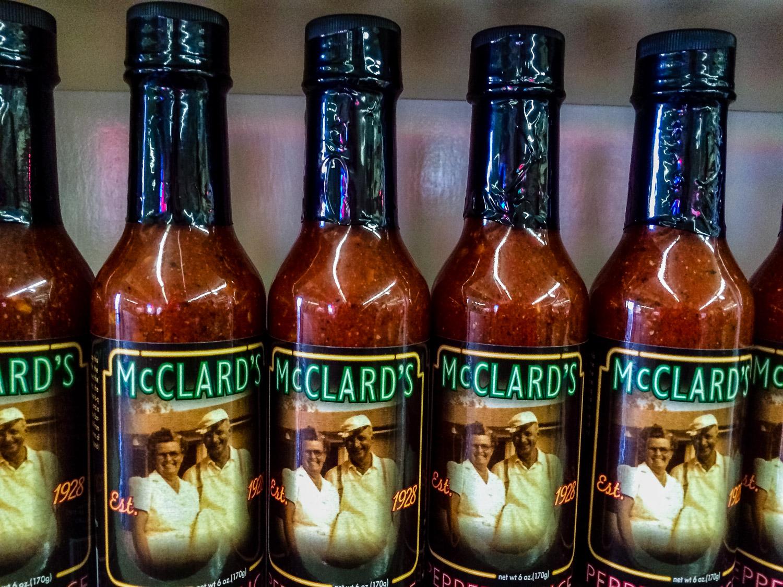 The secret sauce McClard's Bar-B-Q. Photo by Johanna Read TravelEater.net - Wayward Weekend - 13.jpg