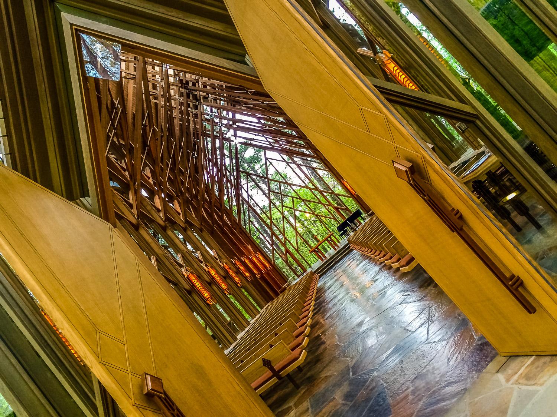 Inside the Anthony Chapel, Garvan Gardens. Photo by Johanna Read TravelEater.net - Wayward Weekend - 17.jpg