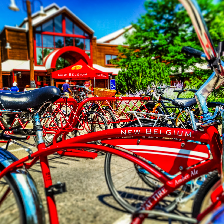 NBB New Belgium Brewery _ bikes, exterior - A Wayward Weekend in Fort Collins - 5
