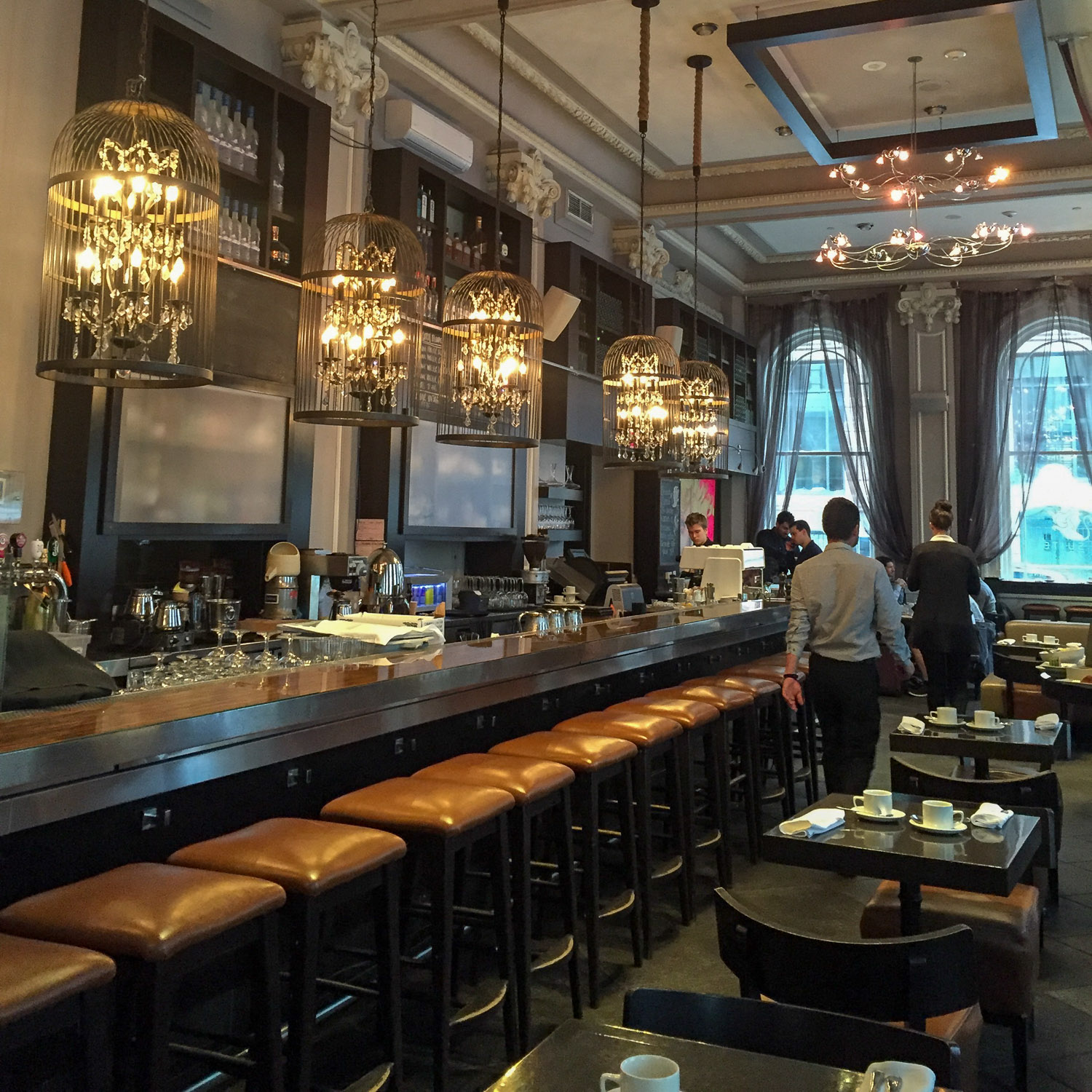 Brasserie Suite 701 at Hotel Place d'Arts. Credit C Laroye - A Wayward Weekend in Montréal