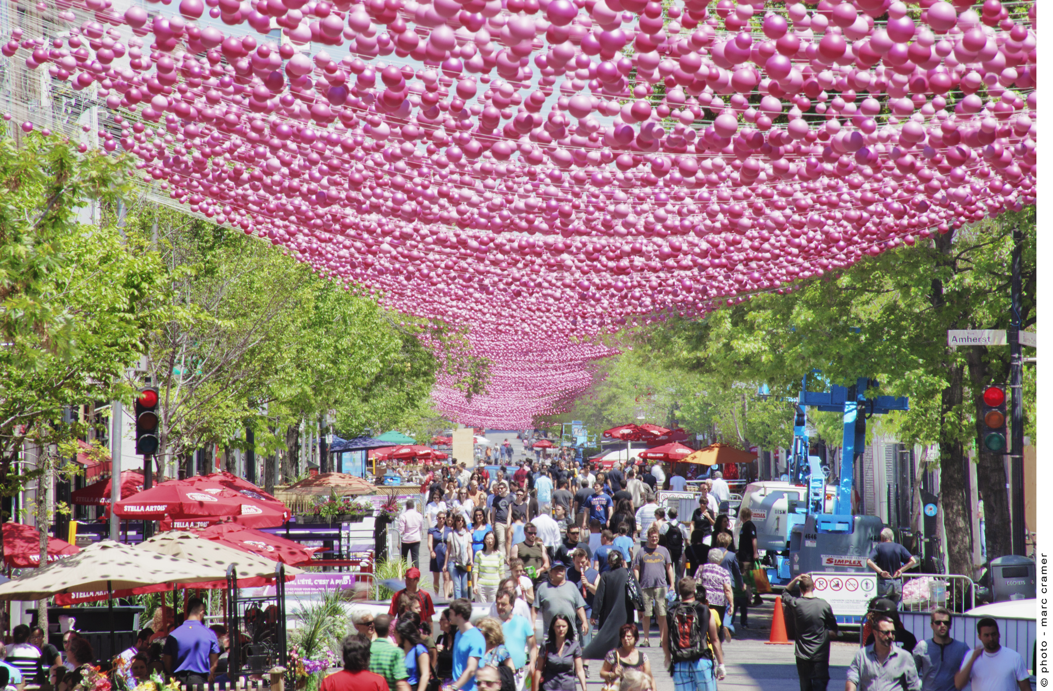Summer is festival time in Montreal. Credit Tourism Montreal - A Wayward Weekend in Montréal