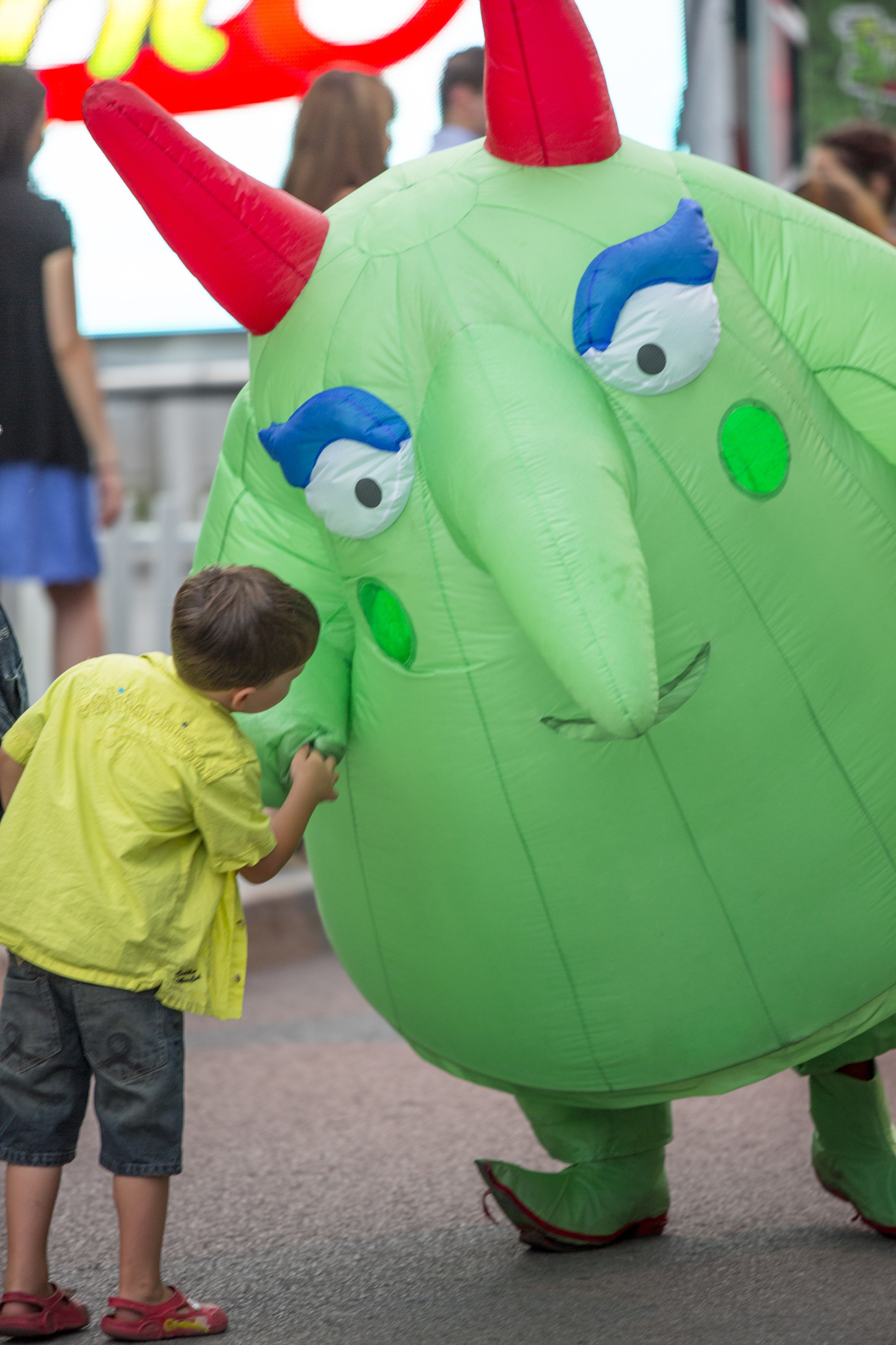 Nobody escapes the fun at the Just for Laughs Festival. Photo Courtesy of Tourism Montreal - A Wayward Weekend in Montréal
