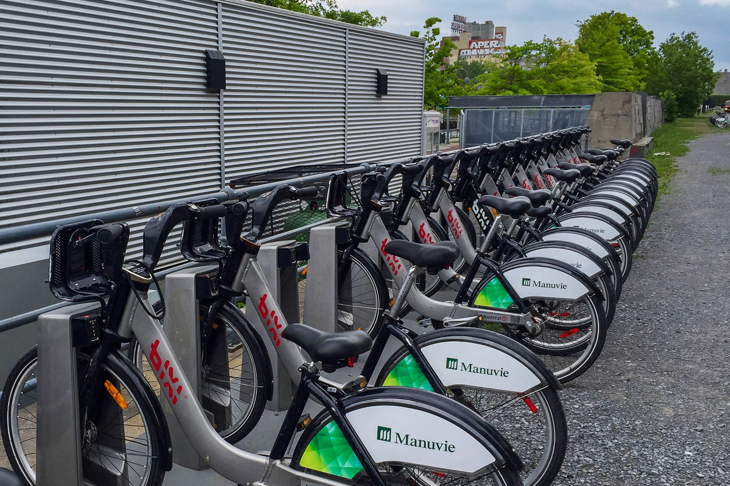 Bike on a Bixi! A great way to tour Old Montreal. Credit C Laroye - A Wayward Weekend in Montréal