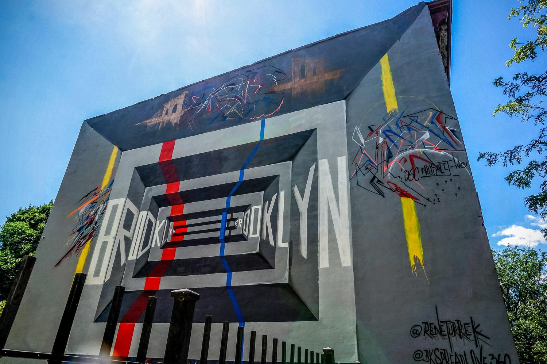 Street art - The Wayward Post, Weekend in Brooklyn NYC