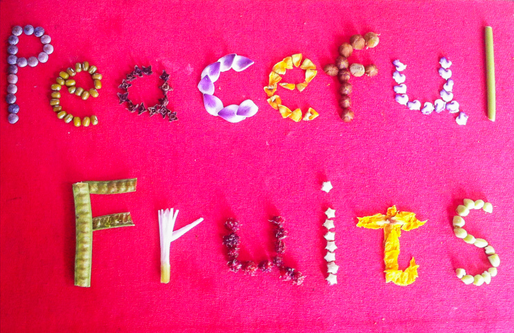 Peaceful+Fruits+-+flowers - Photos courtesy of Peace Fruits