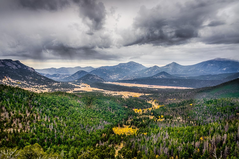 Landscape in Rocky Mountain National Park
