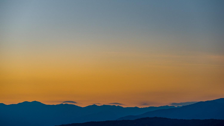 Sunrise over the Great Smoky Mountains National Park - Photo: Zygmunt Spray