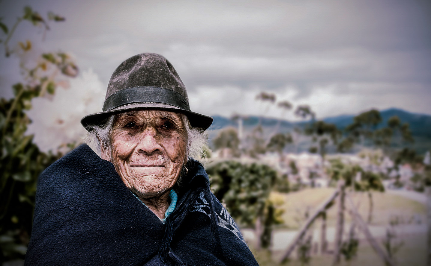Old woman from Ecuador. Faces of the Worlds Richest People, Ecuador - The Wayward Post