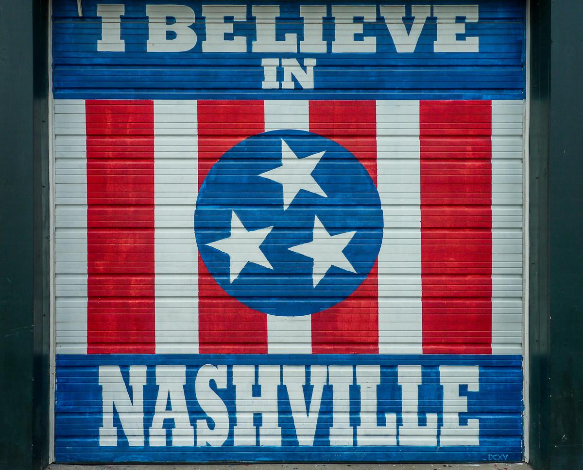 Street art Nashville. Photo by Johanna Read TravelEater.net