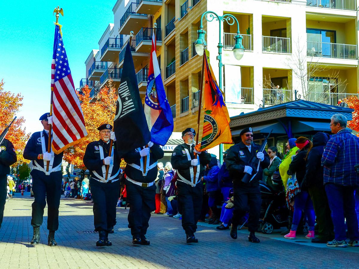 Veterans on parade. Photo: Johanna Read TravelEater.net