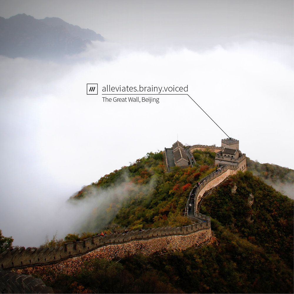 Photo: what3words
