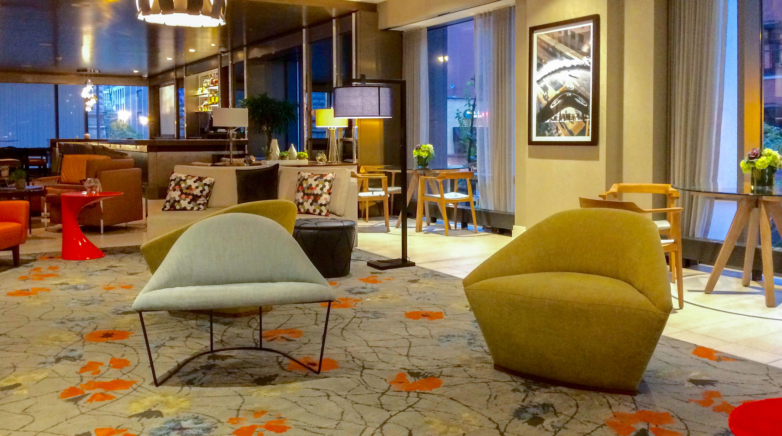 Marriott SpringHill Suites Chicago. Photo: Johanna Read