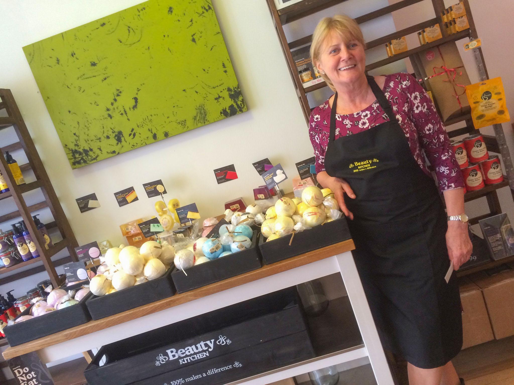 The Beauty Kitchen's aromatherapist. Photo by Johanna Read TravelEater.net