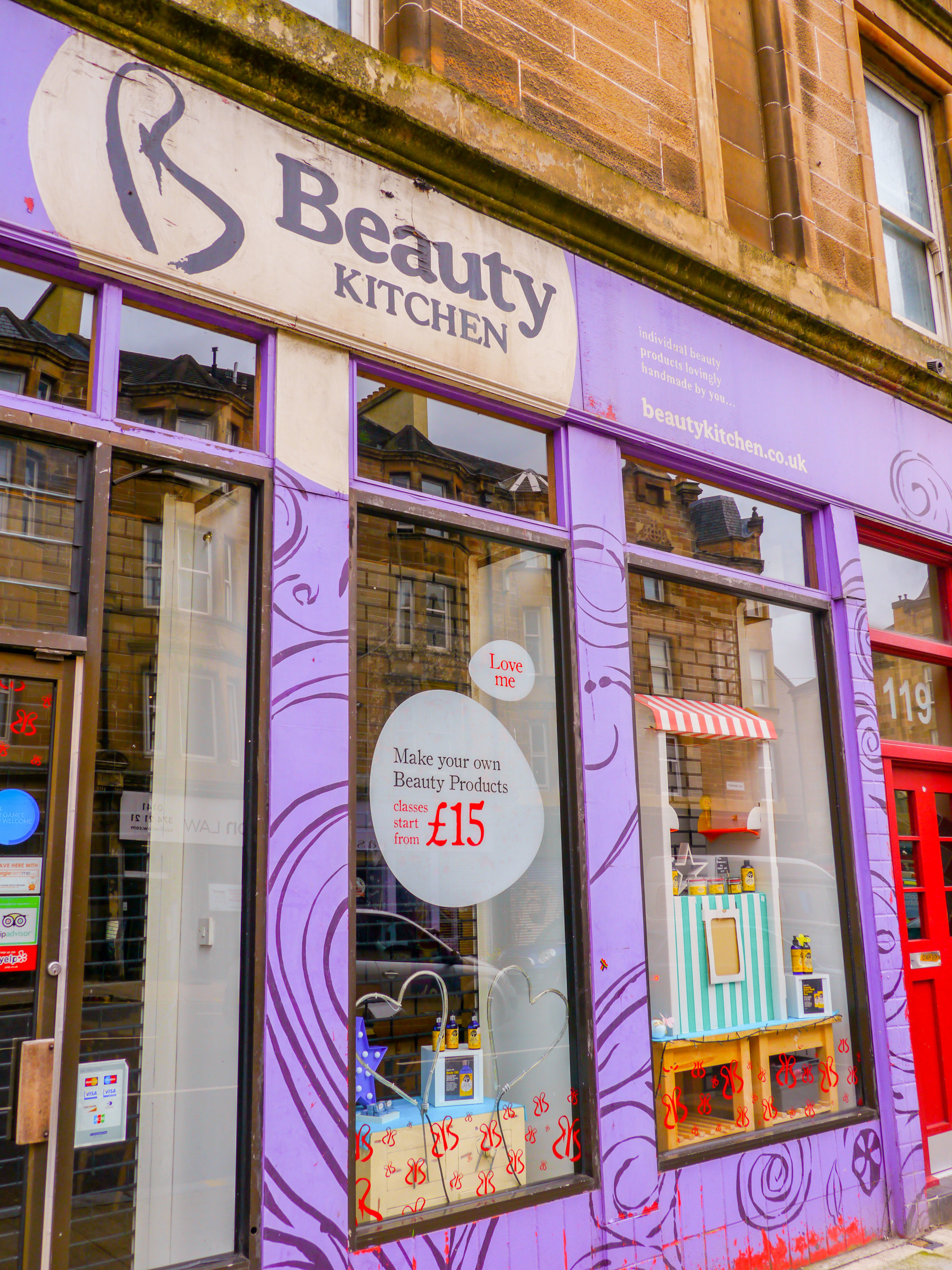 The Beauty Kitchen Glasgow. Photo by Johanna Read TravelEater.net