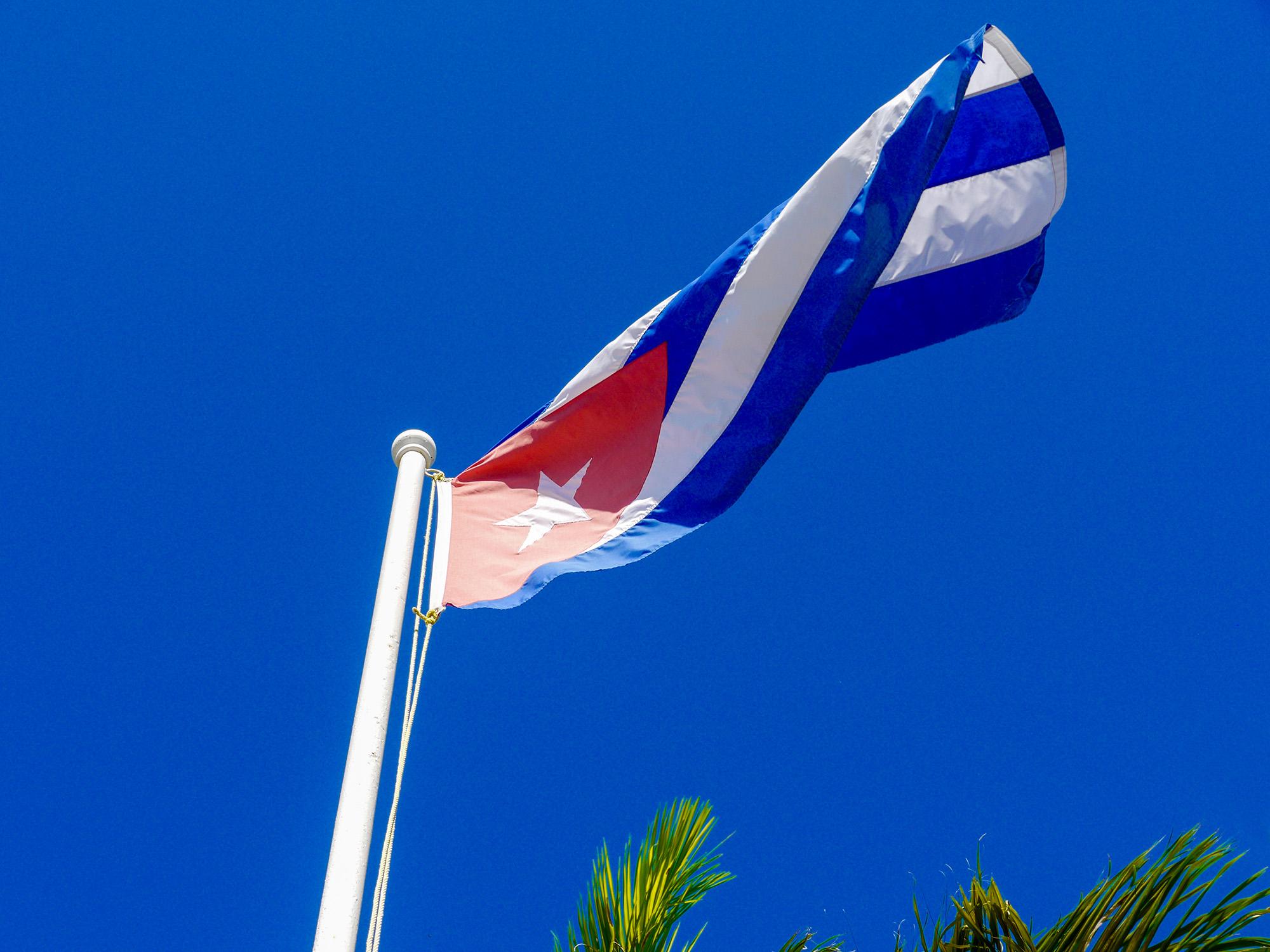 Cuban flag. Photo by Johanna Read TravelEater.net.jpg