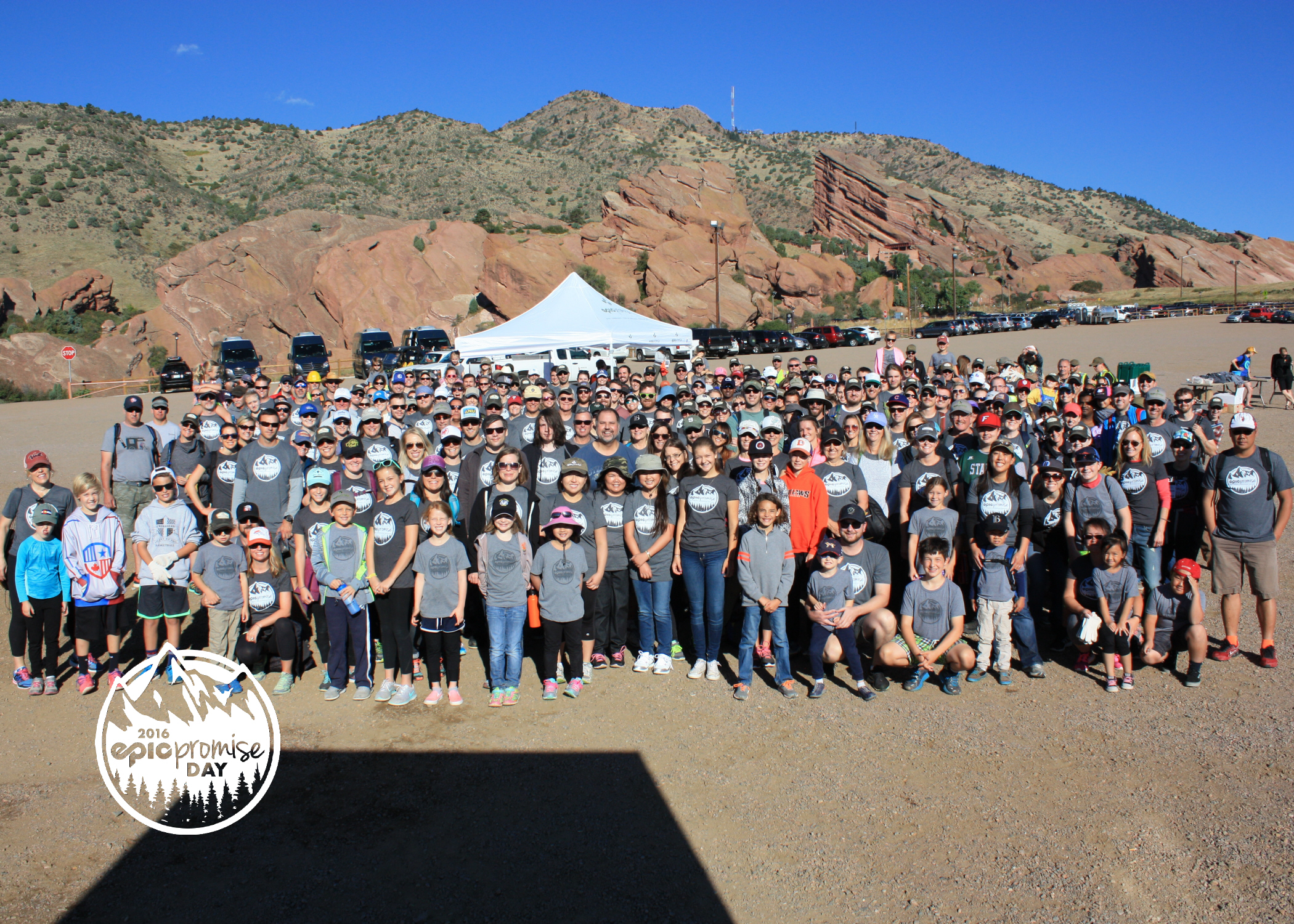 Large Group - Vail Resorts Annual Epic Promise Day