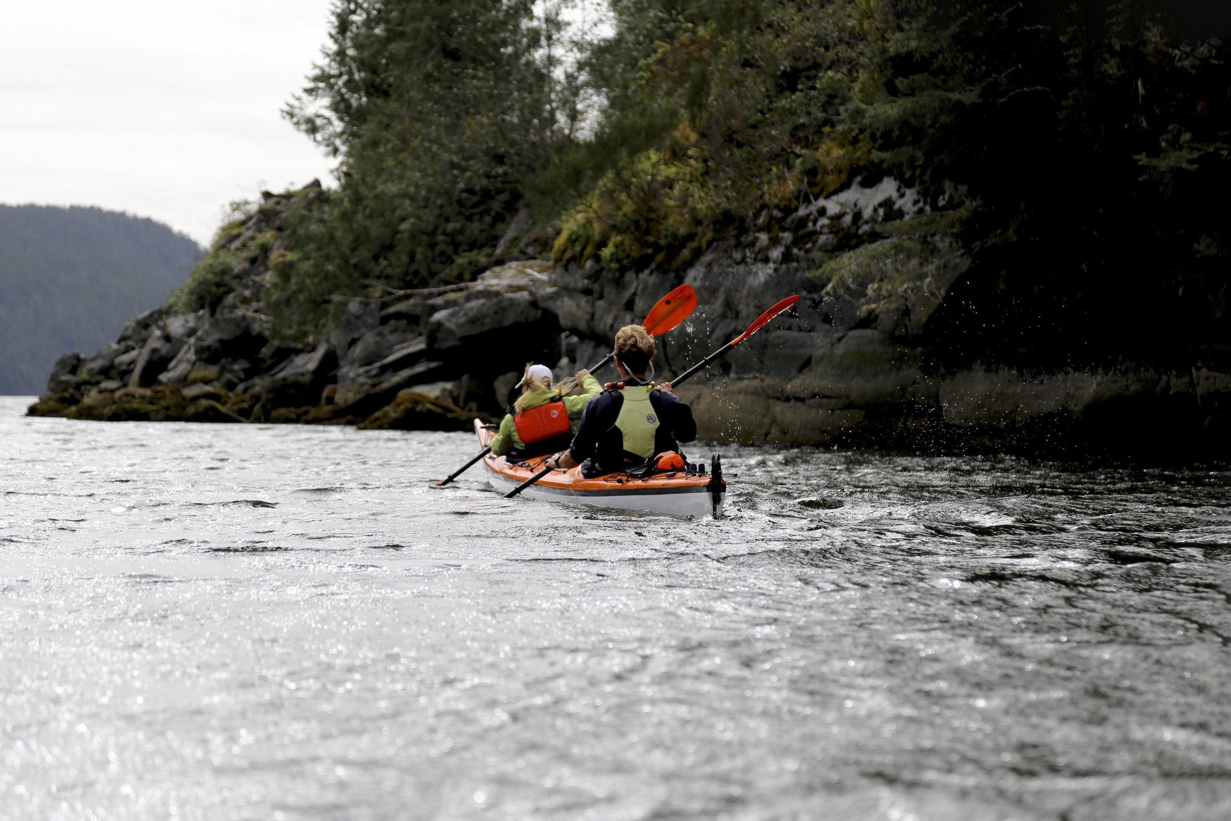 Kayaking in Bedwell Sound - Source Clayoquot Wilderness Resort