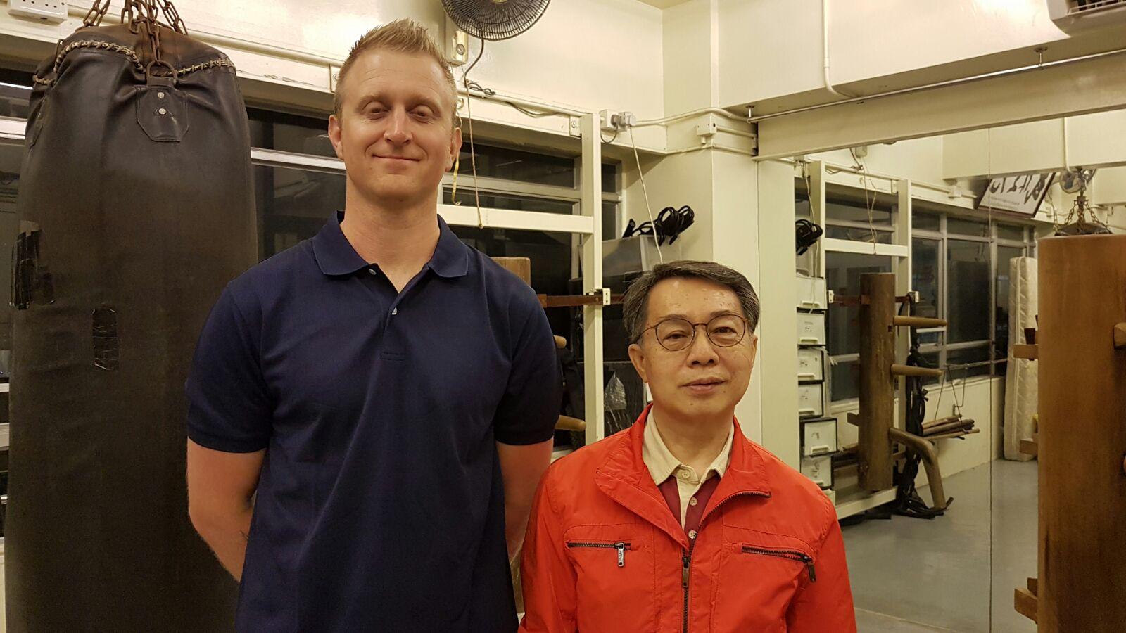 Robert Ley With his Sihing, John Xie
