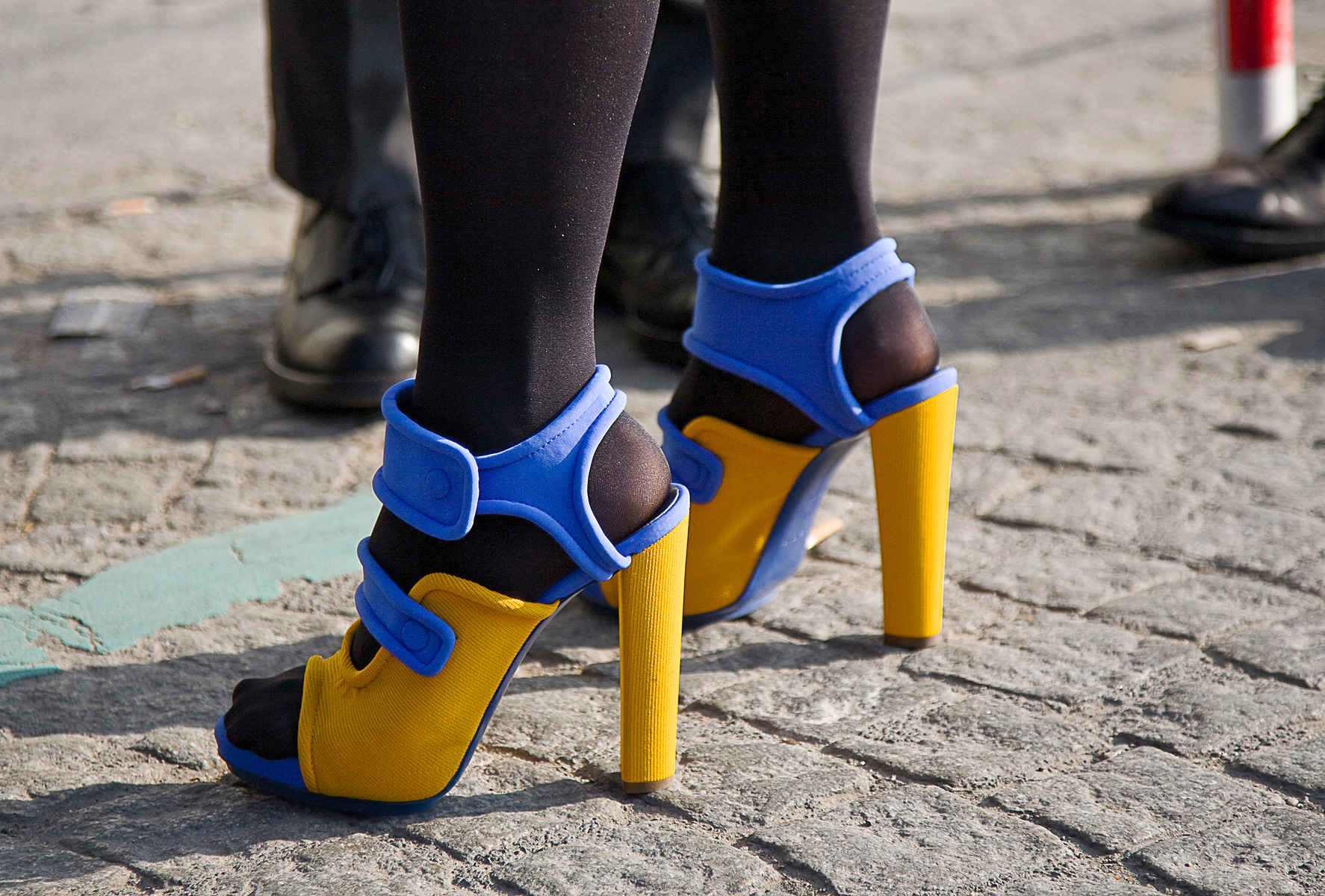photo credit  | More Inspiration | Socks and Sandals