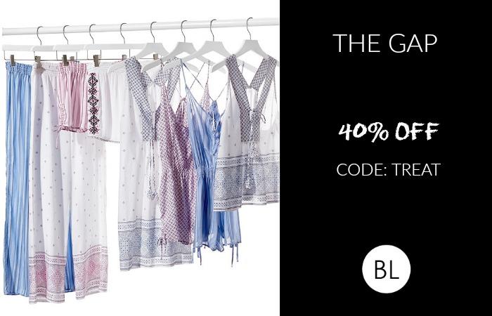 GAP Sale: 40% OFF through 4/25   Shop our picks