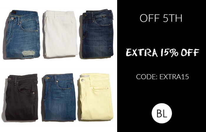 OFF FIFTH Sale: EXTRA 15%OFF  through 4/26   Shop our picks