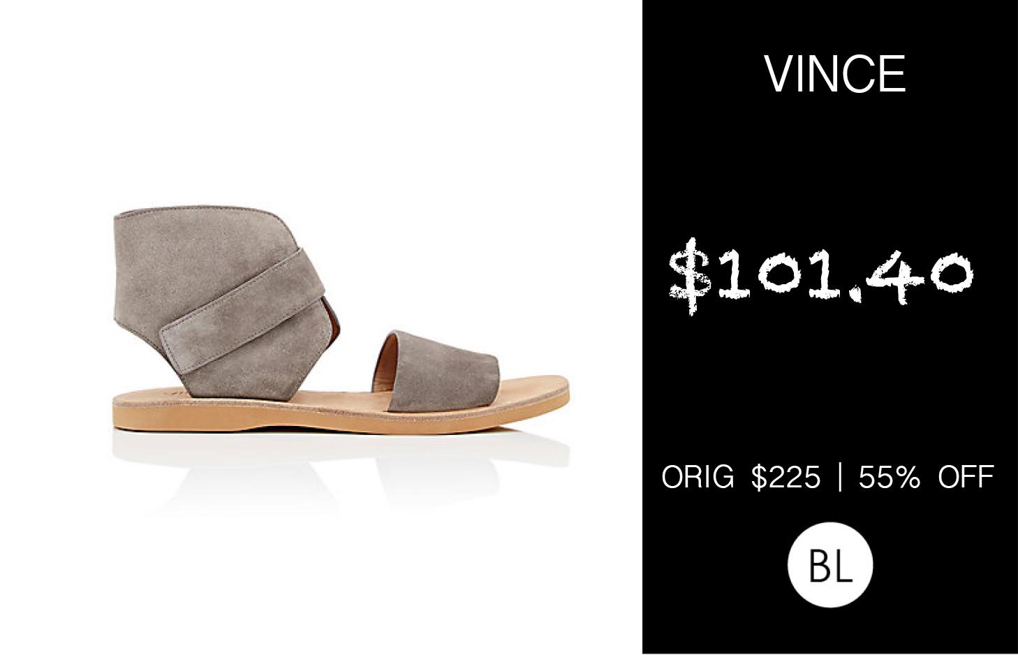 Vince Sage Sandal $101.40 | ORIG $225 | 55% OFF