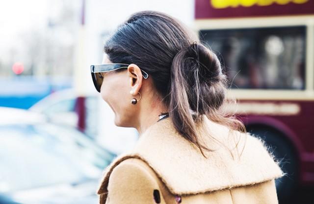 double sided earring street style