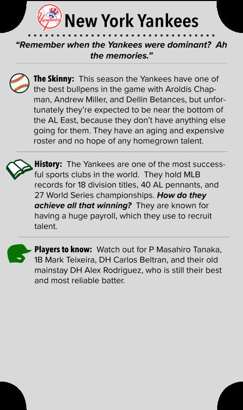 New York Yankees Team Summary