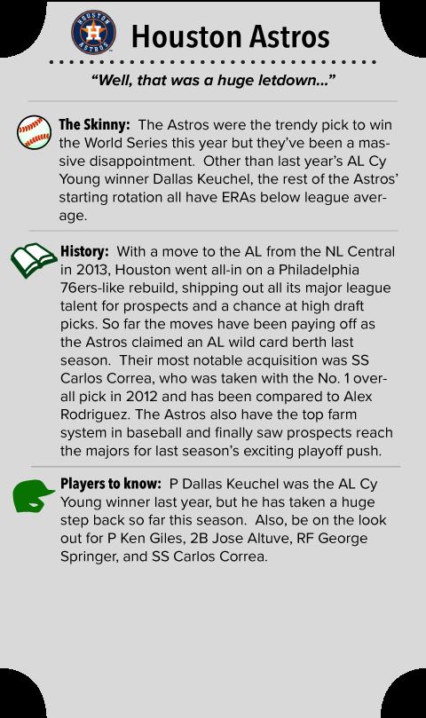 Houston Astros Team Summary