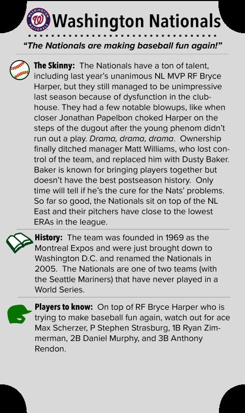 Washington Nationals Team Summary
