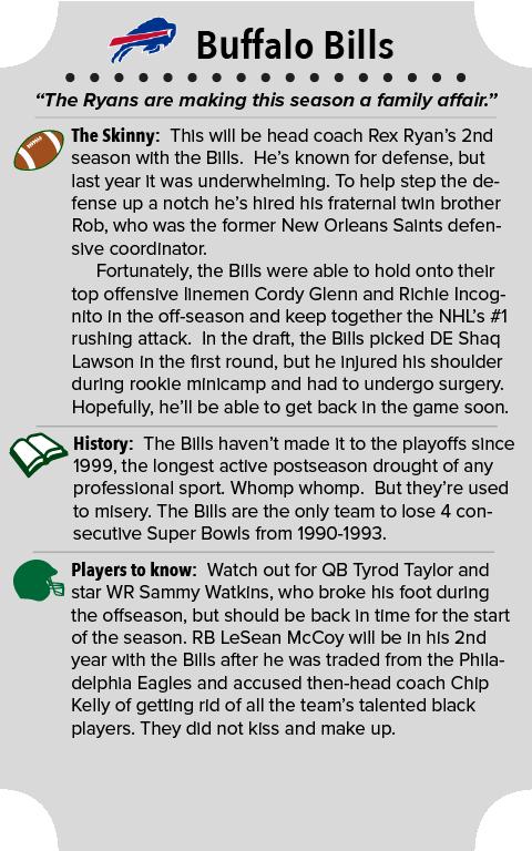Buffalo Bills Team Summary