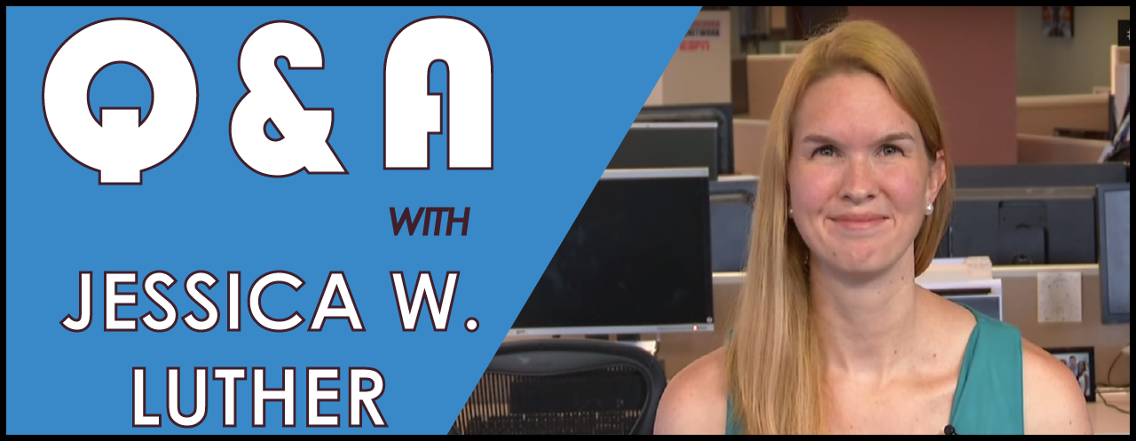 Q&A with Jessica W Luther