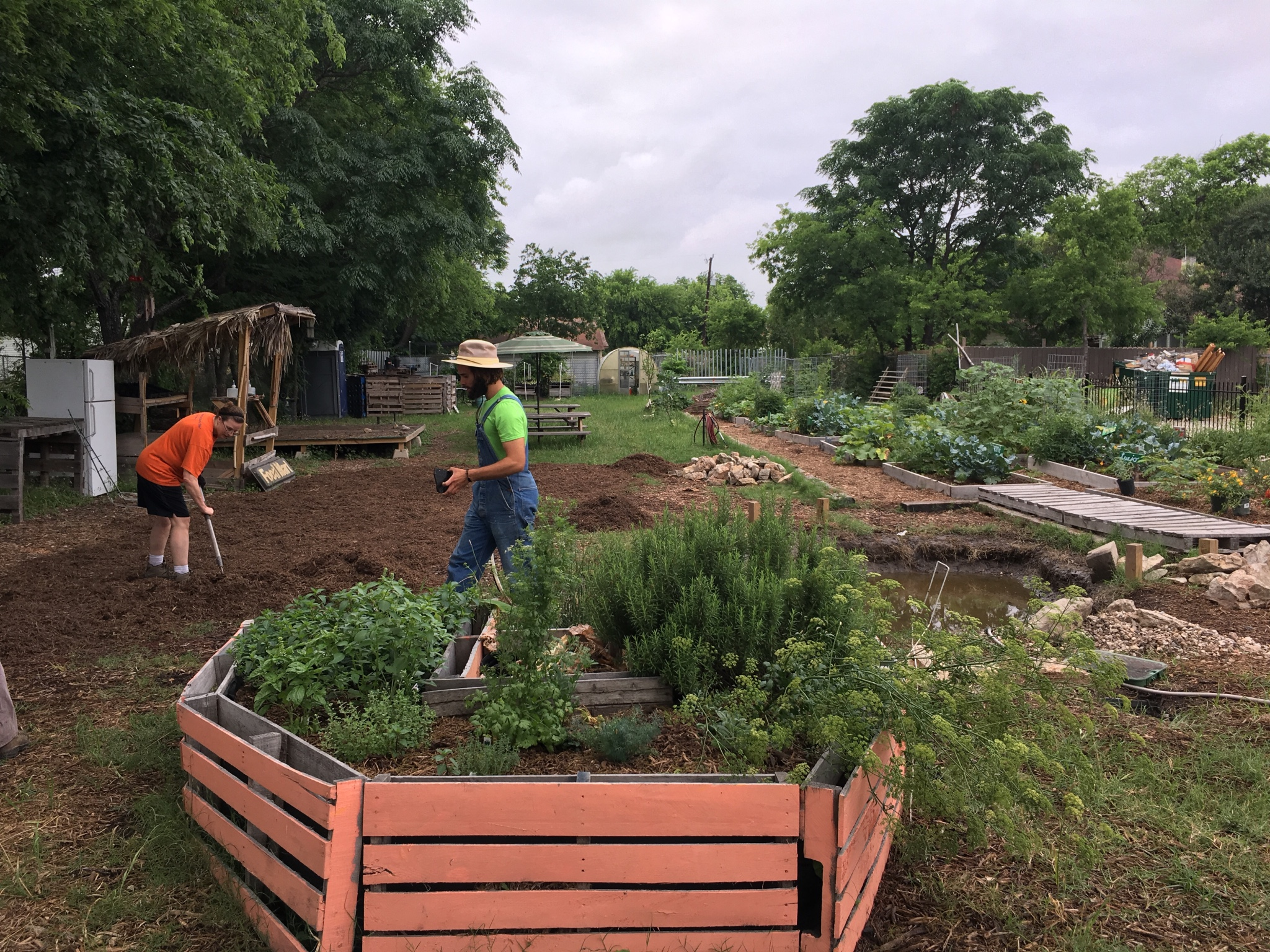- Gardopia sprouted in 2015 to address health disparities in a high-crime corridor on the near-Eastside of San Antonio. Initially funded by the San Antonio Housing Authority (SAHA), Gardopia implemented crime prevention through environmental design (CPTED) as a methodology to reduce crime around an abandoned lot. Working with SAHA, this became the Eastside's first