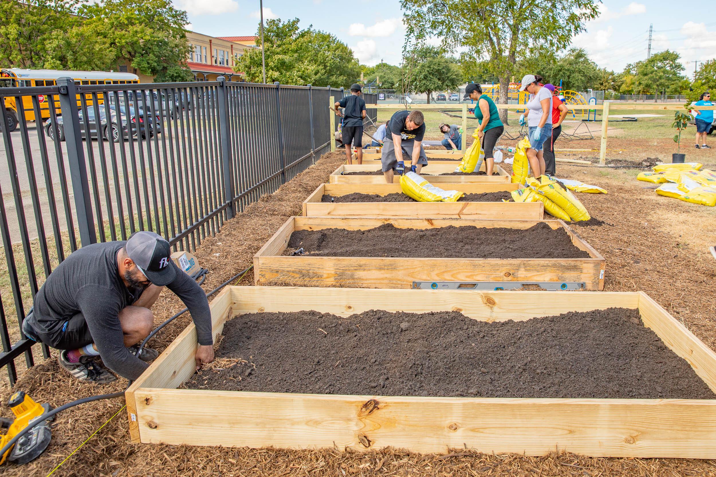 Build-A-Garden & Optimization Program @ Young Men's Leadership Academy
