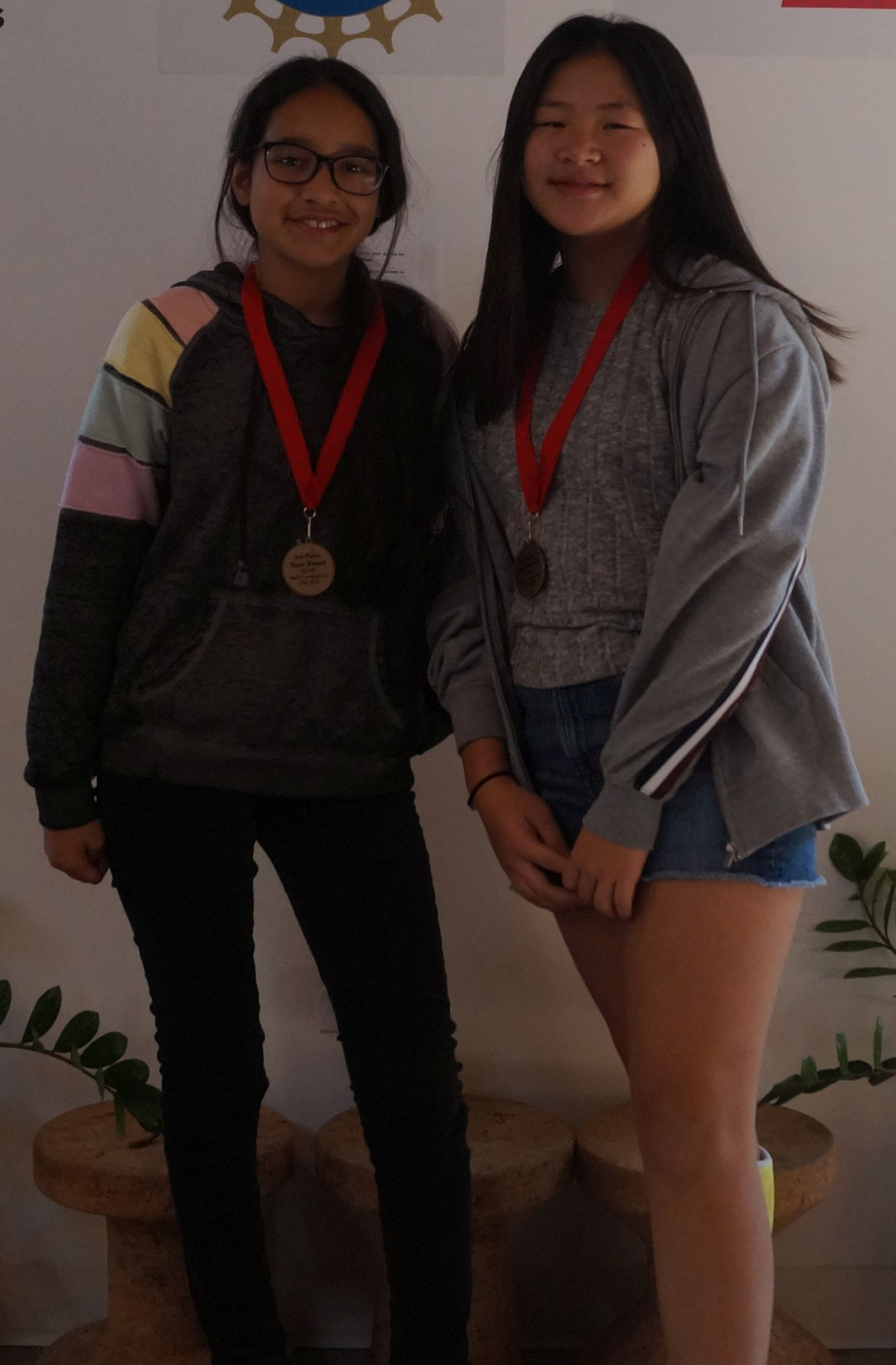Kaylee and Sharon, BEAM 6 alum, won 3rd place in the team round representing Rise Kohyang Middle School.
