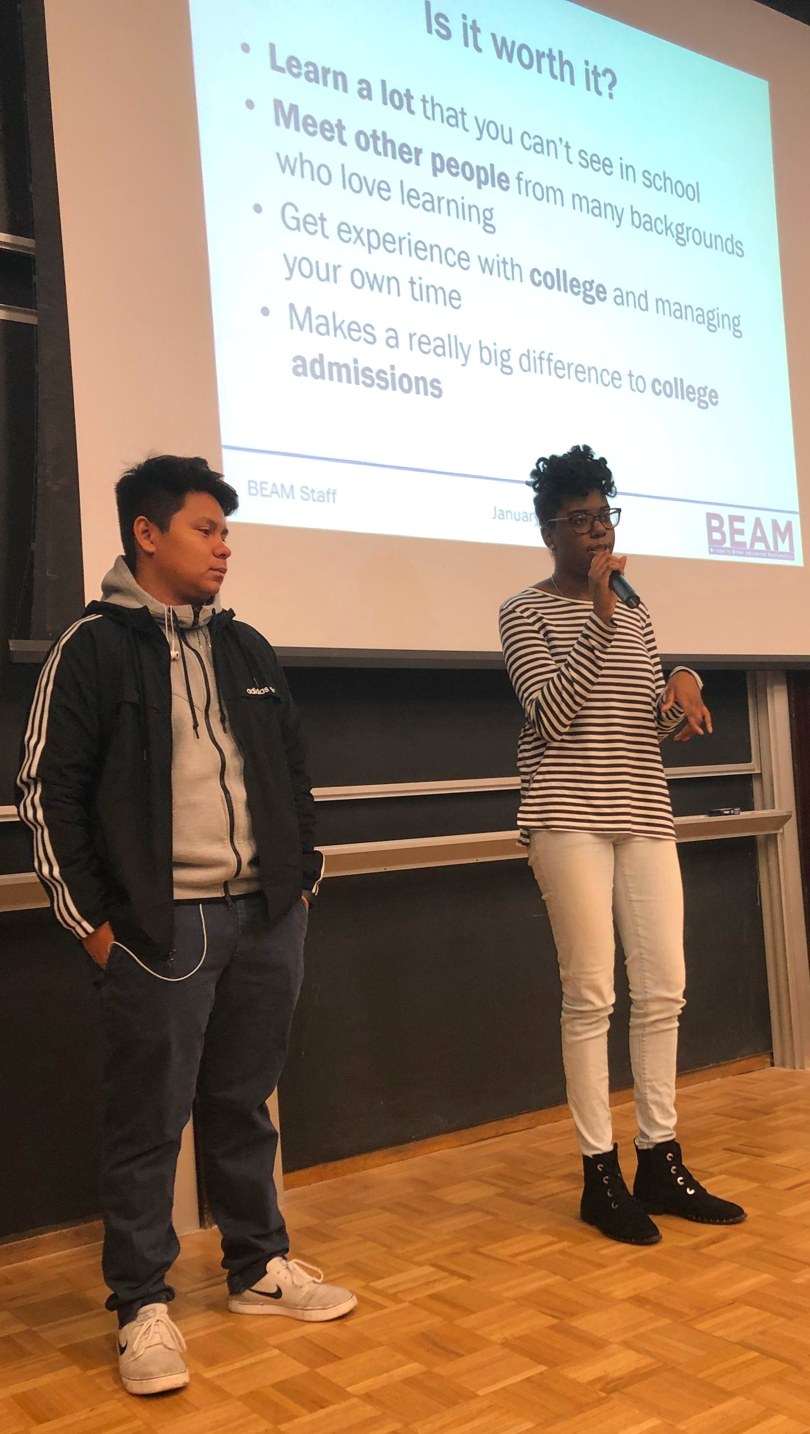 BEAM alumni Teo and Jennora share their experience from summer programs they have attended.