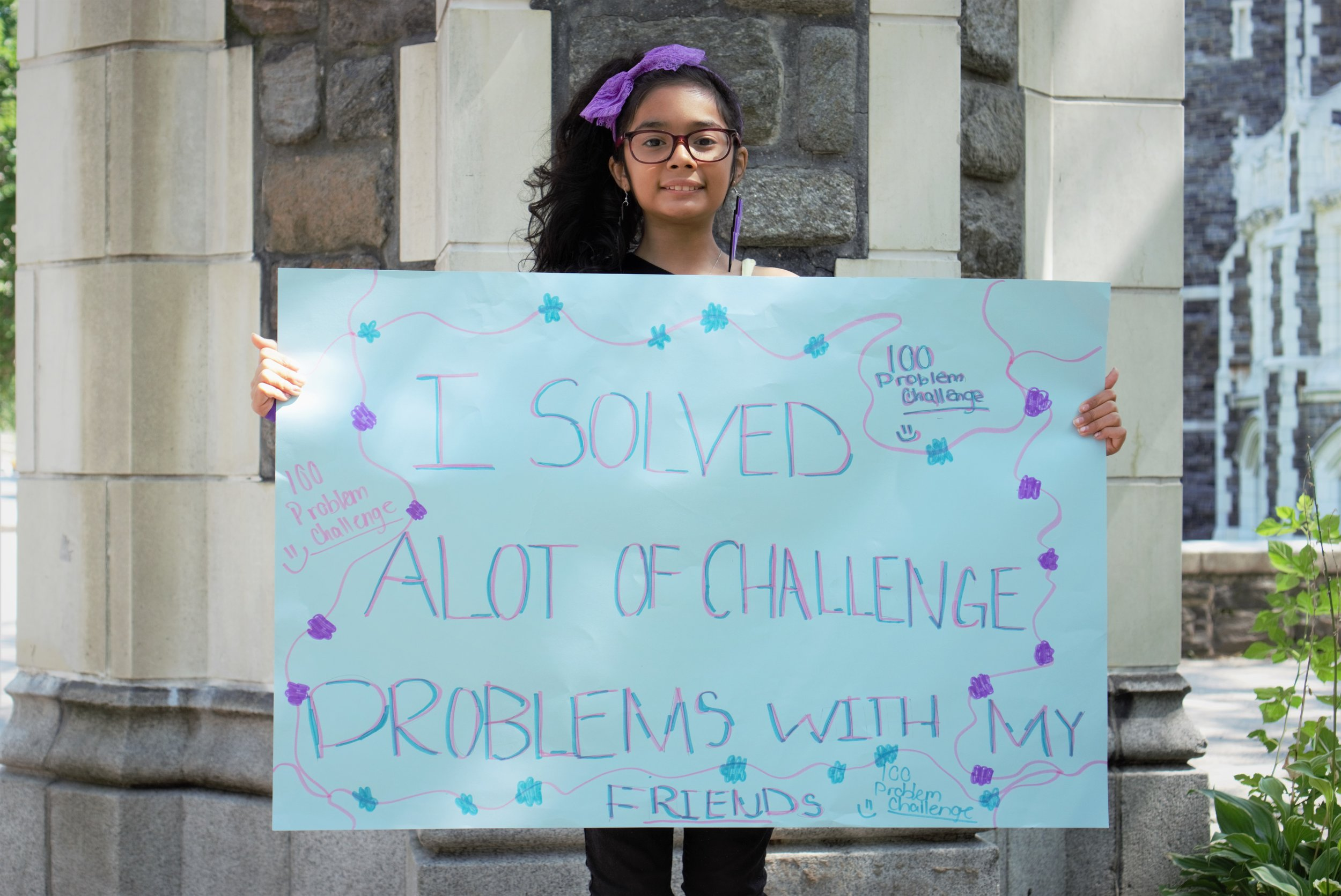 """I solved a lot of challenge problems with my friends."" —Ruth, BEAM Discovery"