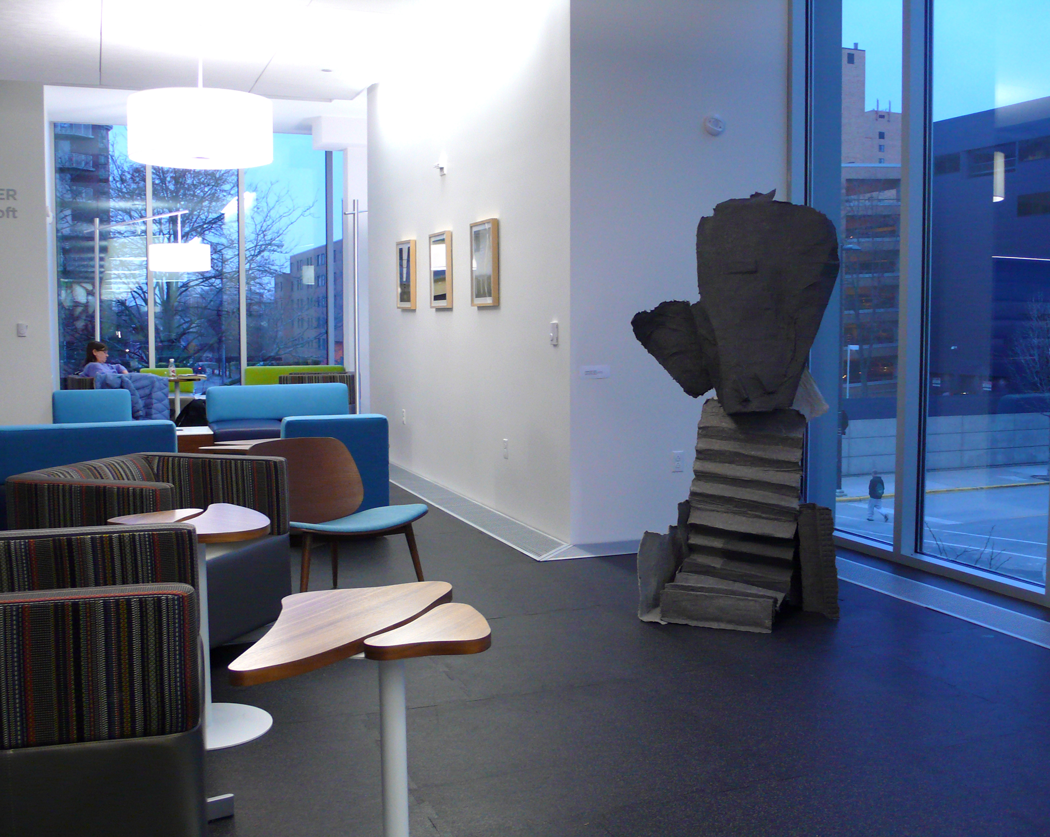 This Column lived on the 1st floor after the show for a while.