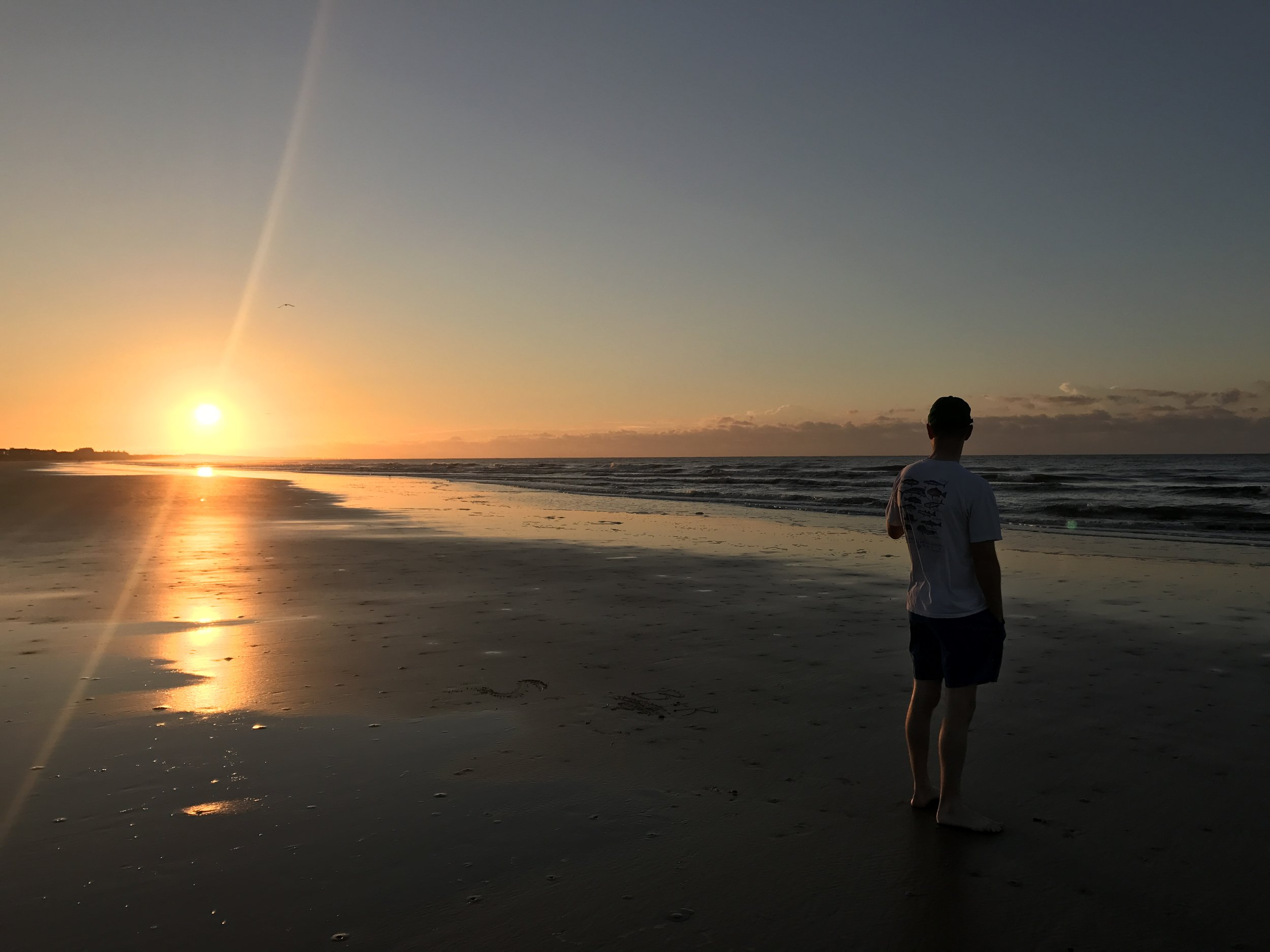 Sunrise magic.