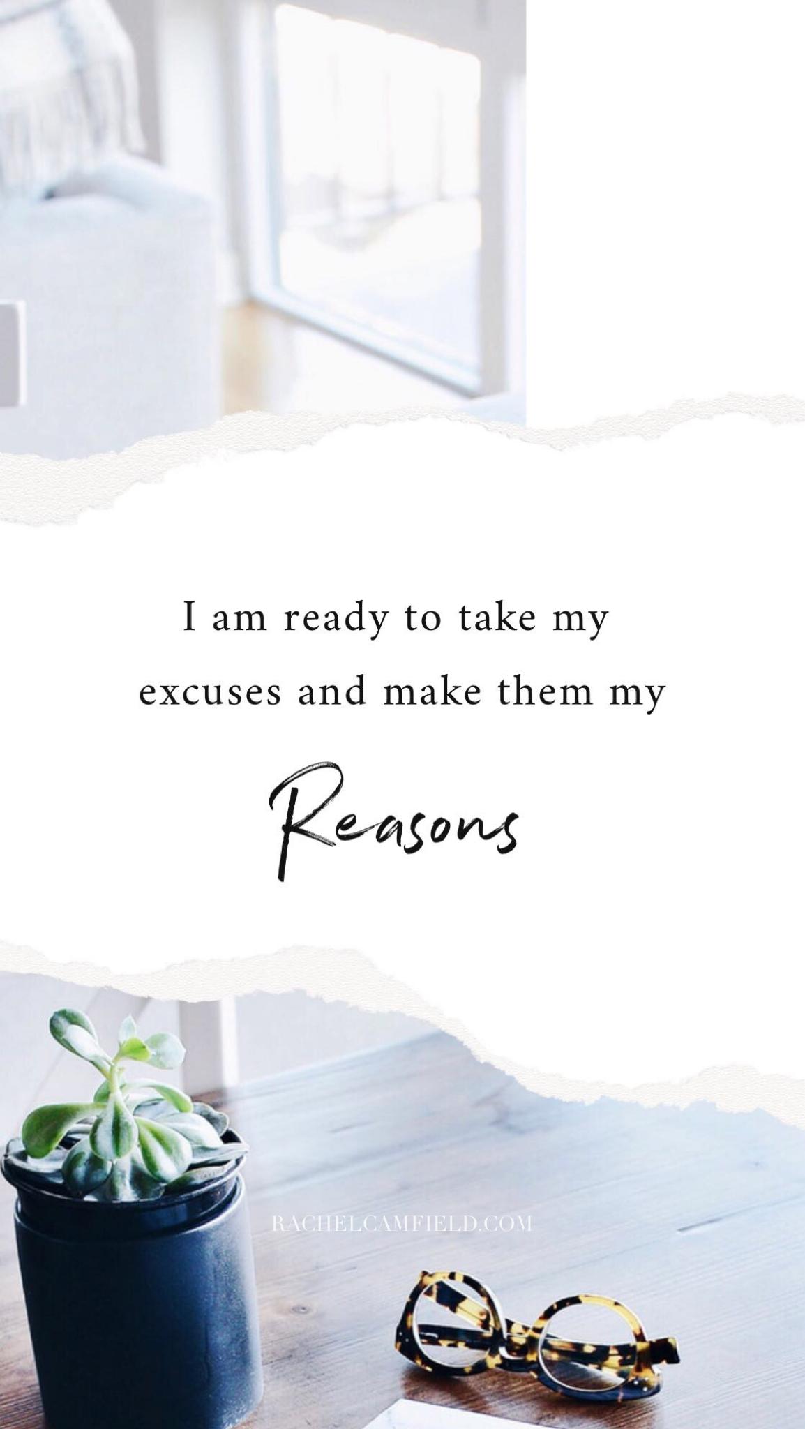 Rachel Camfield Reasons
