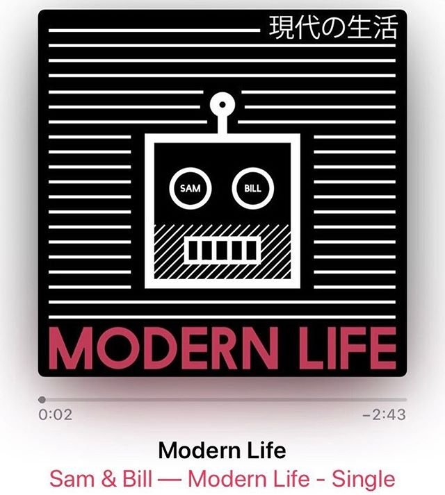 We don't know who needs to hear this today, but Modern Life is now available on all streaming and download platforms for your earhole enjoyment!